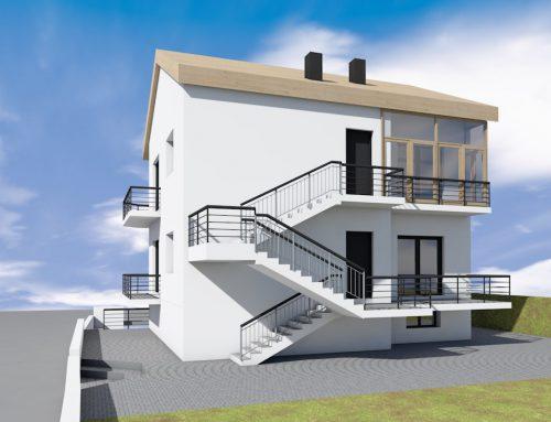 Demolizione ricostruzione Villa bifamiliare